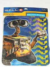 NEW ~WALL.E~ DISNEY PIXAR HAPPY BIRTHDAY BANNER PARTY SUPPLIES