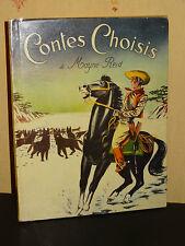 CONTES CHOISIS - Mayne-Reid - ILLUSTRATIONS EN COULEURS