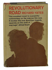 Revolutionary Road ~ by RICHARD YATES ~ First Edition ~ 1st Printing 1961