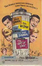 James Garner THE ART OF LOVE Elke Sommer VHS Angie Dickinson