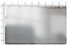 2103 METAL MESH 1:12 / 1:18 / 1:24 BLACK ( HONEYCOMB MESH )