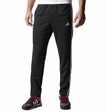 new adidas TAPPERED FIELD PANTS men's sz L black gym run training track sweats
