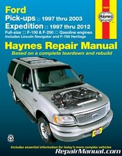 Haynes Ford Pickup 1997-2003 Expedition Lincoln Navigator 1997-2012 Repair Ma...