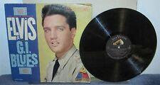Vintage Album - Elvis Presley G.I. BLUES on RCA Victor Records