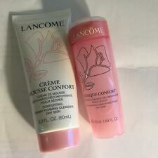Set of Lancome Creme Mousse Confort Creamy Forming Cleanser 2oz + Tonique Toner