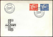 Switzerland 1961 Europa, FDC First Day Cover #C39933