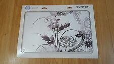 Dell Inspiron 15R Interchangable Laptop Covers - White and Black flowers