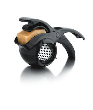 Microplane Parmesan Cheese Black Rotary Grater - Stainless Steel Star Blade