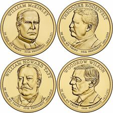 SCARCE 2013 US P or D Unc Presidential Dollar Coin Set