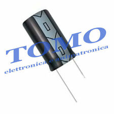 Condensatore elettrolitico 120uF 6,3V 105° LOW ESR 2 pezzi CE-120UF-6.3