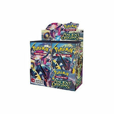POKEMON XY ANCIENT ORIGINS SEALED BOOSTER BOX OF 36 PACKS NEW TRADING CARDS 2015
