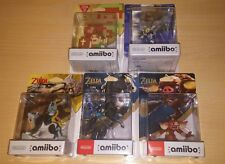 PACK AMIIBO THE LEGEND OF ZELDA BREATH OF THE WILD SEALED LINK 30th, SHEIK, WOLF