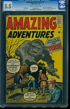 Amazing Adventures 1 CGC 5.5 Silver Age Key Marvel Comic 1st Doctor Droom L@@K!