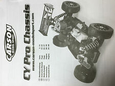 CARSON CY Pro Chassis 500204027 Bedienanleitung Tamiya Dickie RC Car 1:8
