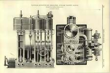 1892 Triple Expansion Engines Steam Yacht Zaria