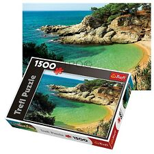 Trefl 1500 Piece Adult Large Mysterious Bay Sea Trees Floor Jigsaw Puzzle NEW
