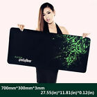 700*300*3MM Rubber Mantis Speed Game Mouse Pad Mat Large XL Size NEW