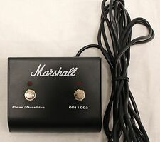 Original Marshall Footswitch, Two Button With LED (Clean / Overdrive, OD1 / OD2)