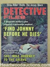 """""""Detective Files"""" July 1974"""