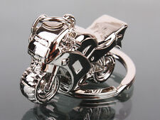 Cool Motorcycle Key Ring Chain Motor Silver Keychain New Fashion Cute Lover Gift
