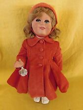 "JENNY FASHION DOLL by Bonomi Italy c. 1950s 17"" tall (hard plastic) w/Tag"