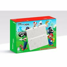 Nintendo 3ds super mario edition white