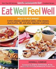 EAT WELL FEEL WELL Cookbook ulcerated colitis,celiac,diverticulitis,IBS Crohns