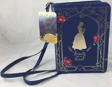NEW BELLE Book Bag (Premiere Week Disney Beauty and the Beast) BLUE Purse