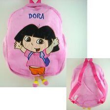 Dora the Explorer Boots School Bag Pink Plush Shoulders Bag Backpack Bag + GIFT