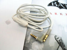 I White Mic Volume Control Talk Cable Cord for Beats by Dr.Dre Studio Headphones