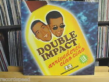 "★★ 12"" Maxi - DOUBLE IMPACT - Arrivederci Ciao Ciao - Extended + Portugues Mix"