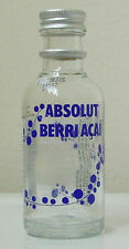 ABSOLUT BERRI ACAI VODKA MINIATURE BOTTLE - No Contents