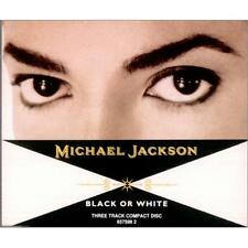 Michael Jackson - Black Or White - CD Single