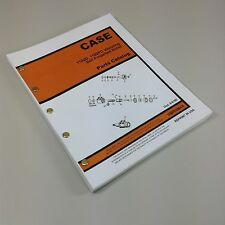CASE1102D 1102PD VIBRATING SELF PROPELLED ROLLER PARTS MANUAL CATALOG ASSEMBLY