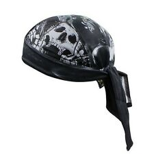 Cool Skull Scarf Outdoor Sports Cycling Bicycle Hat Headband Pirate Cap CC3528