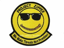 USAF Air Force Black Ops 413th Flight Squadron Pro Zipper We Make Threats Patch
