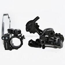 SRAM X4 Derailleur Set Front & Rear 7/8S Black