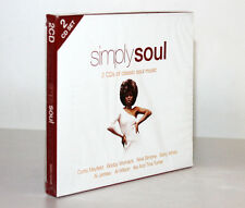 SIMPLY SOUL [2 CD'S OF ESSENTIAL CLASSIC SOUL MUSIC / 2011] 698458025623