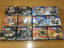 ��NEW�� Lego Star Wars Series 2 & 3 Microfighters ��NO MINIFIGURES INCLUDED��