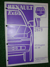 RENAULT EXTRA INJECTION SYSTEM TECHNICAL INTRO MANUAL (E7J ENGINE APPLIED) 1997