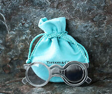Tiffany & Co Book Mark Magnifying Glass Vintage Rare Sterling Silver Authentic