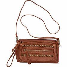 2016 NWT WOMENS BILLABONG MOONGAZE CLUTCH $40 desert brown vegan leather
