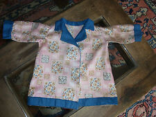 ANCIENNE VESTE ROBE DE CHAMBRE POUPON ann 20/30 OLD BABY DOLL JACKET