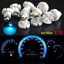10x Ice Blue T4 T4.2 Neo Wedge 1-SMD LED Cluster Instrument Climate Bulbs Light