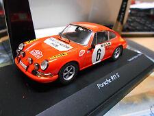 PORSCHE 911 S Rallye Monte Carlo 1970 Winner #6 Waldegaard Schuco limited 1:43