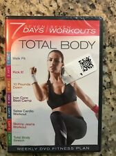 7 Days / 7 Workouts - Total Body (DVD) * NEW * Factory Sealed