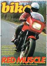 Bike 1983-05  GPz750, 500 Laverda sports  H1 Kawasaki John Lampkin