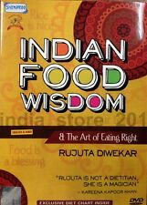 Indian Food Wisdom & The Art Of Eating Right By Bollywood Dietitian English DVD