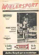 HENNIE KUIPER Olympic magazine WIELERSPORT 33 1972 cycling Cyclisme Wielrennen