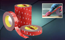 "Original 3M Double Sided Adhesive Tape Acrylic Foam Car Auto 24 mm(1"") x 10 m"